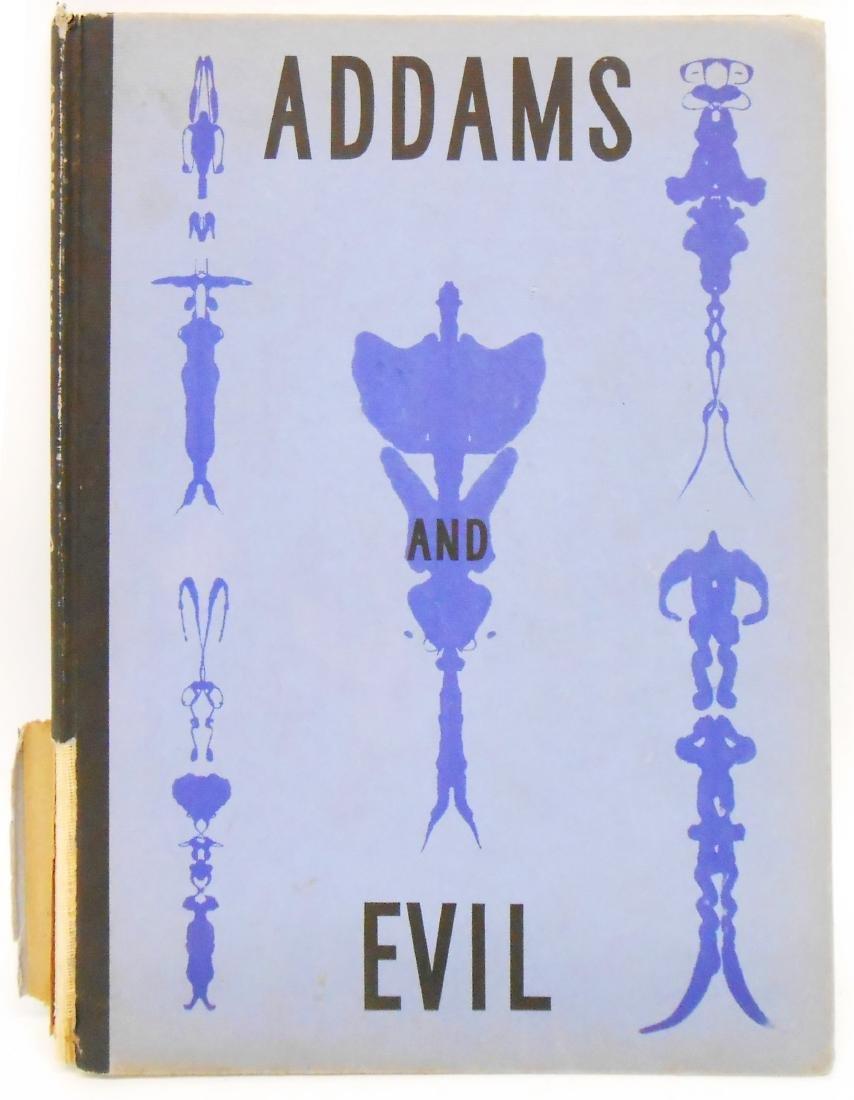 ADDAMS AND EVIL BOOK - CHARLES ADDAMS