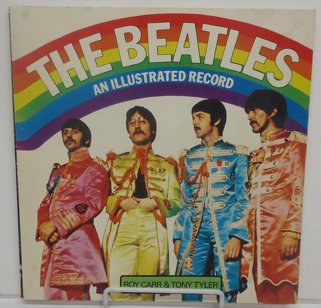 THE BEATLES - AN ILLUSTRATED RECORD BOOK