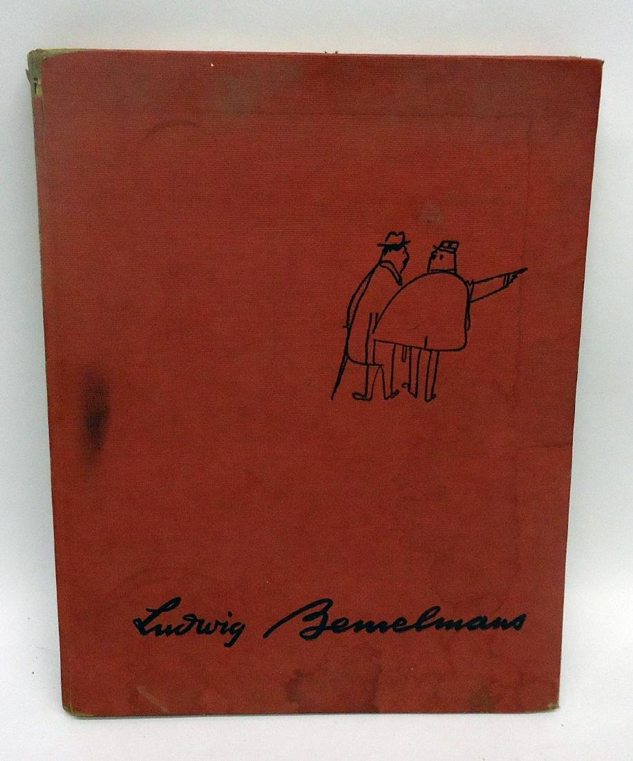 "LUDWIG BEMELMANS ""THE BEST OF TIMES"" BOOK"