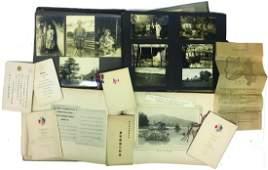AMERICA/JAPAN SOCIETY DINNER EPHEMERA & (2) ALBUMS