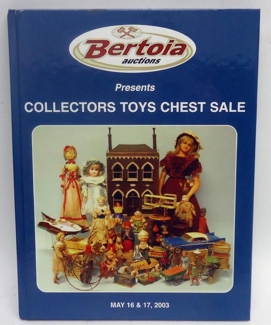 (9) TOY AUCTION HARDBACK CATALOGS - 9