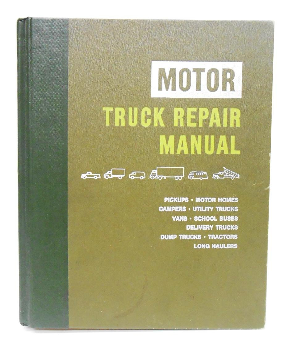 (3) MOTOR'S TRUCK REPAIR MANUAL BOOKS - 3