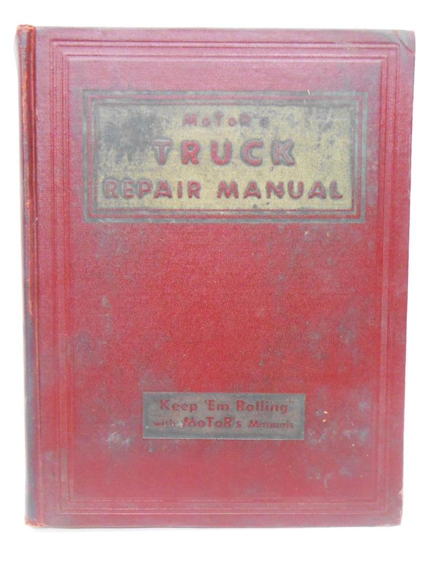 (3) MOTOR'S TRUCK REPAIR MANUAL BOOKS - 4