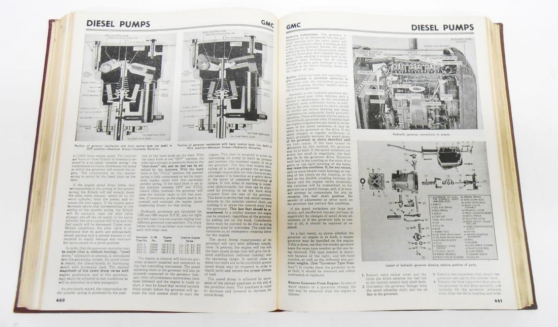 (3) MOTOR'S TRUCK REPAIR MANUAL BOOKS - 5