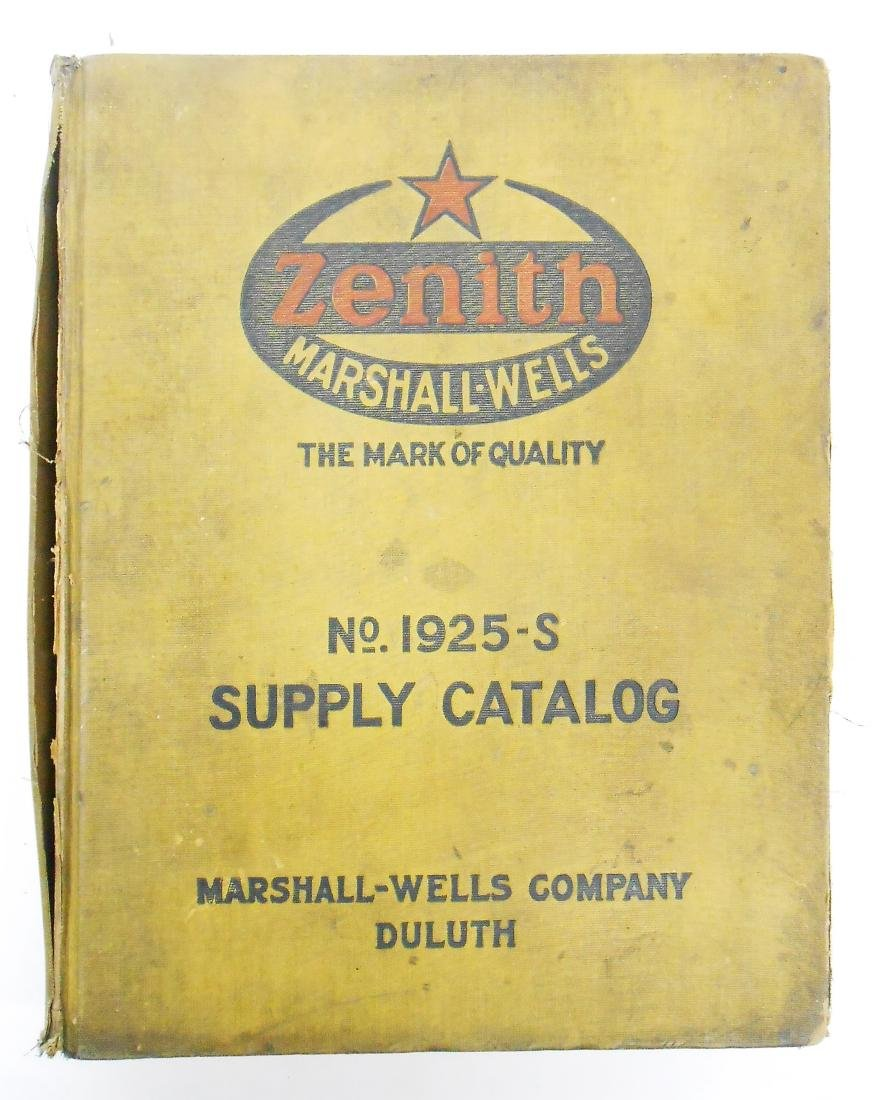 ZENITH SUPPLY CATALOG NO 1925-S