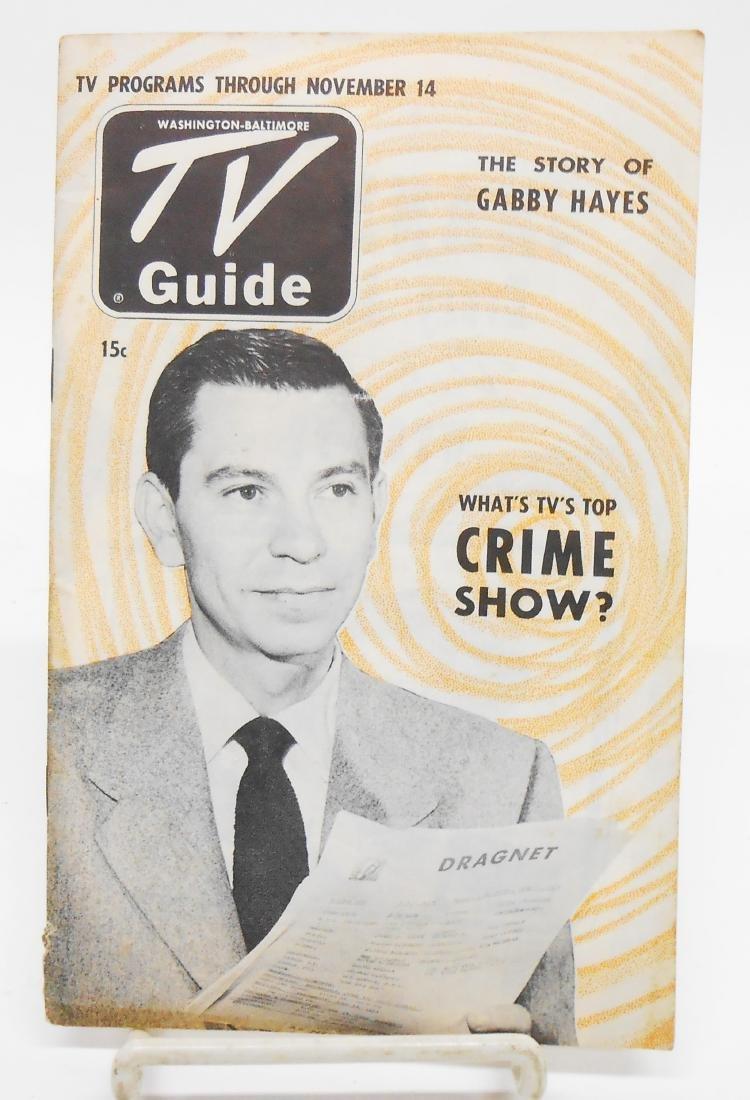(2) 1950'S T.V. GUIDES