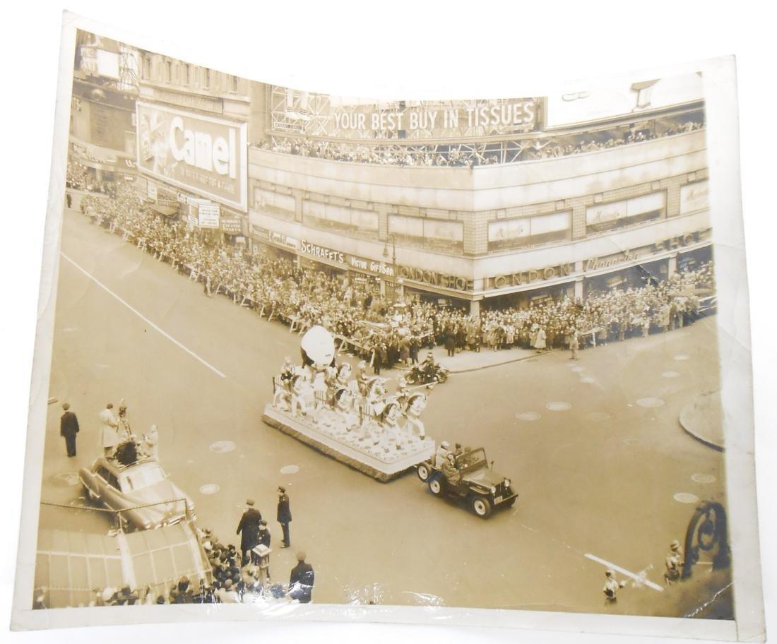 (10) MACY THANKSGIVING PARADE PHOTOS, 1951; etc.