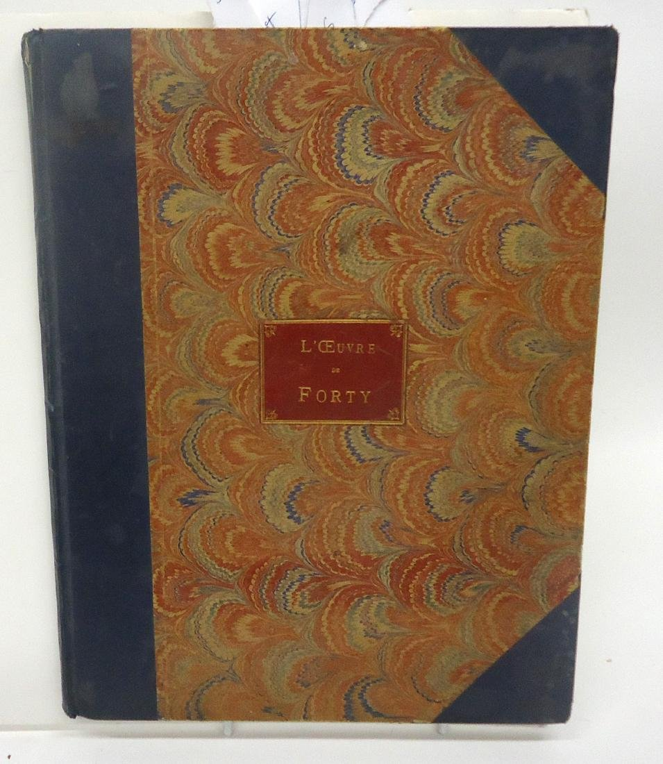 FRENCH BRONZE SCULPTURE BOOK