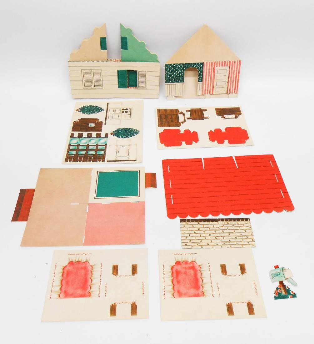 DOLL & DOLL RELATED PAPER ITEMS (9)