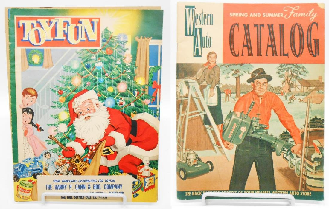 LOT OF 1950S-60'S VINTAGE TOY CATALOGS