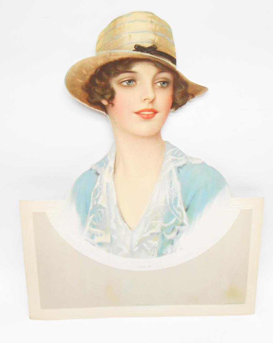 (4) DIE-CUT ADVERTISING WOMEN
