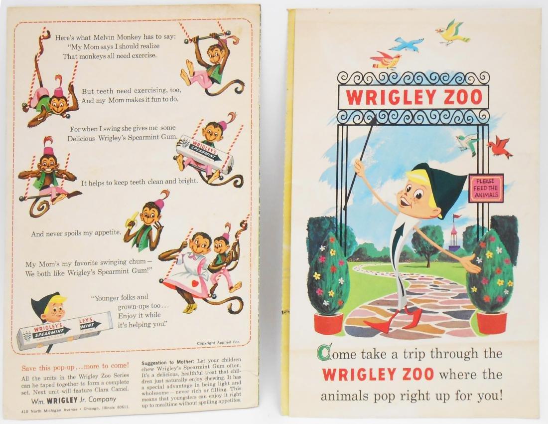 WRIGLEY CHEWING GUM ZOO POP UPS (2)