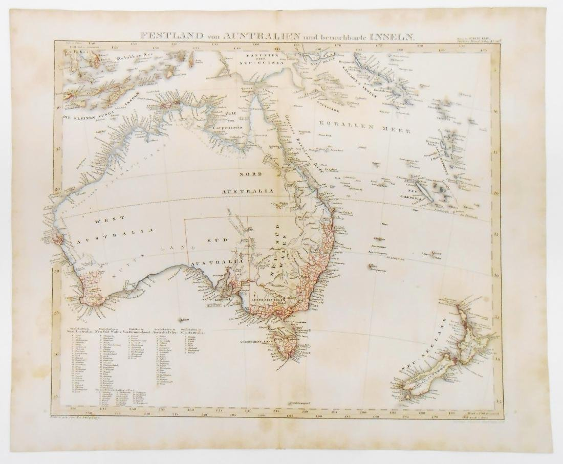 (2) EARLY MID 19TH CENTURY MAPS