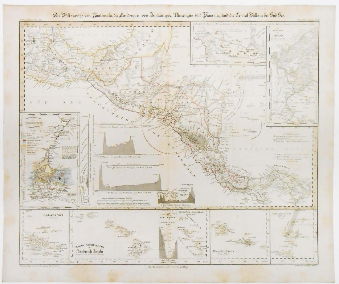 (2) MID 19TH CENTURY MAPS OF THE AMERICAS - 2