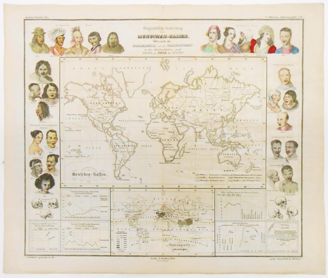(2) MID NINETEENTH CENTURY ETHNOGRAPHIC MAPS