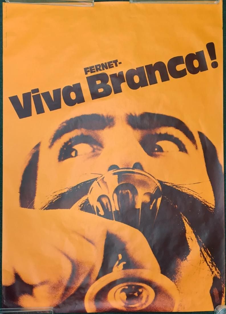 FERNET-VIVA BRANCA! ADVERTISING POSTERS (2)
