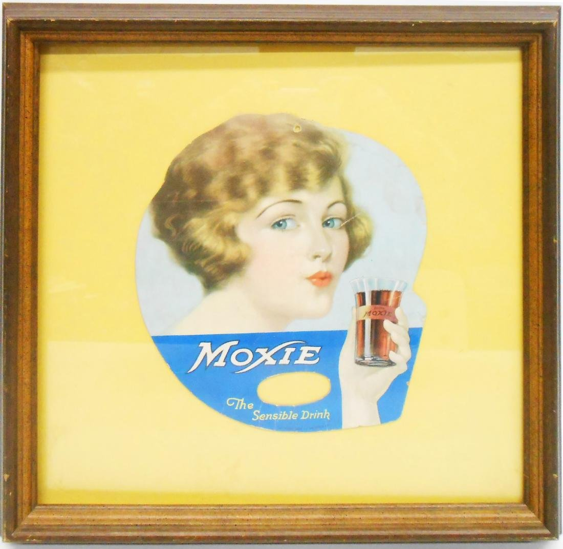 MOXIE ADVERTISING FAN - 1924