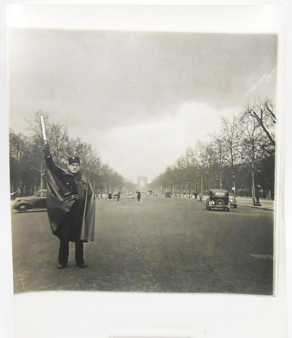 EDWARD CLARK CHAMPS ELYSEES PHOTO and LIFE MAGAZINE