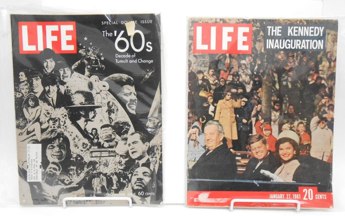 (20) LOOK & LIFE MAGAZINES, INCLUDES LUCY, KENNEDY