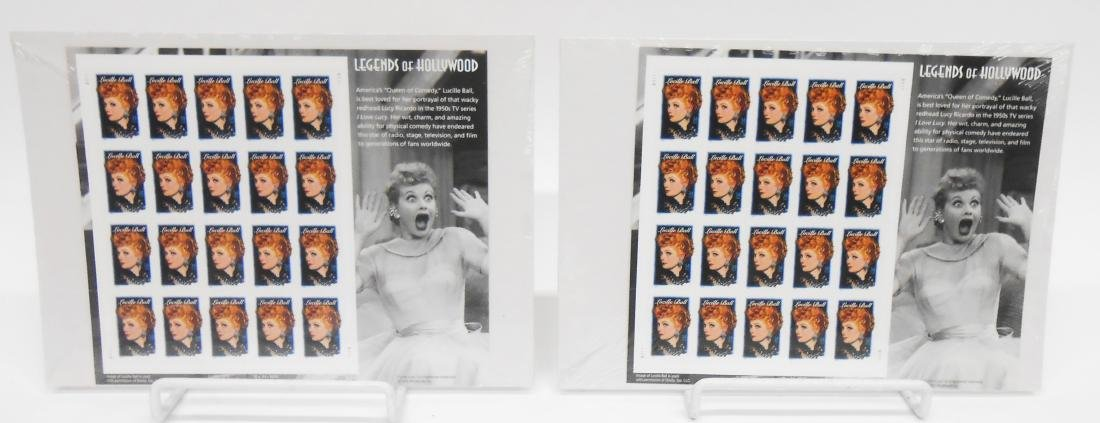 LEGENDS OF HOLLYWOOD LUCILLE BALL STAMPS (340)+ - 3