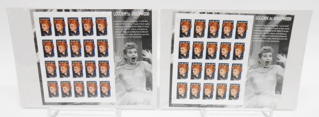 LEGENDS OF HOLLYWOOD LUCILLE BALL STAMPS (340)+ - 4