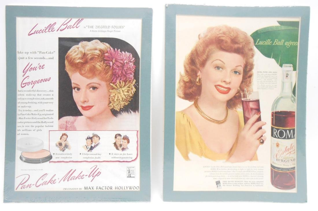 (24) LUCILLE BALL MAGAZINE ADS & BROCHURES - 5