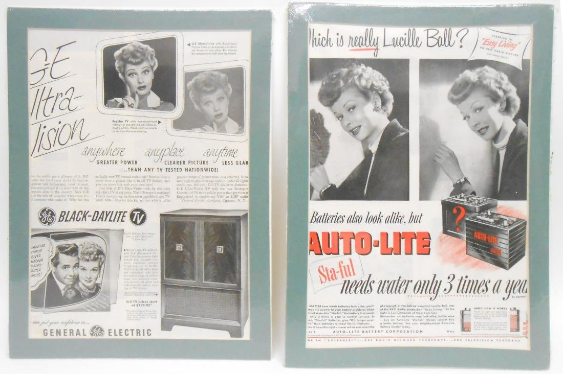 (24) LUCILLE BALL MAGAZINE ADS & BROCHURES - 6