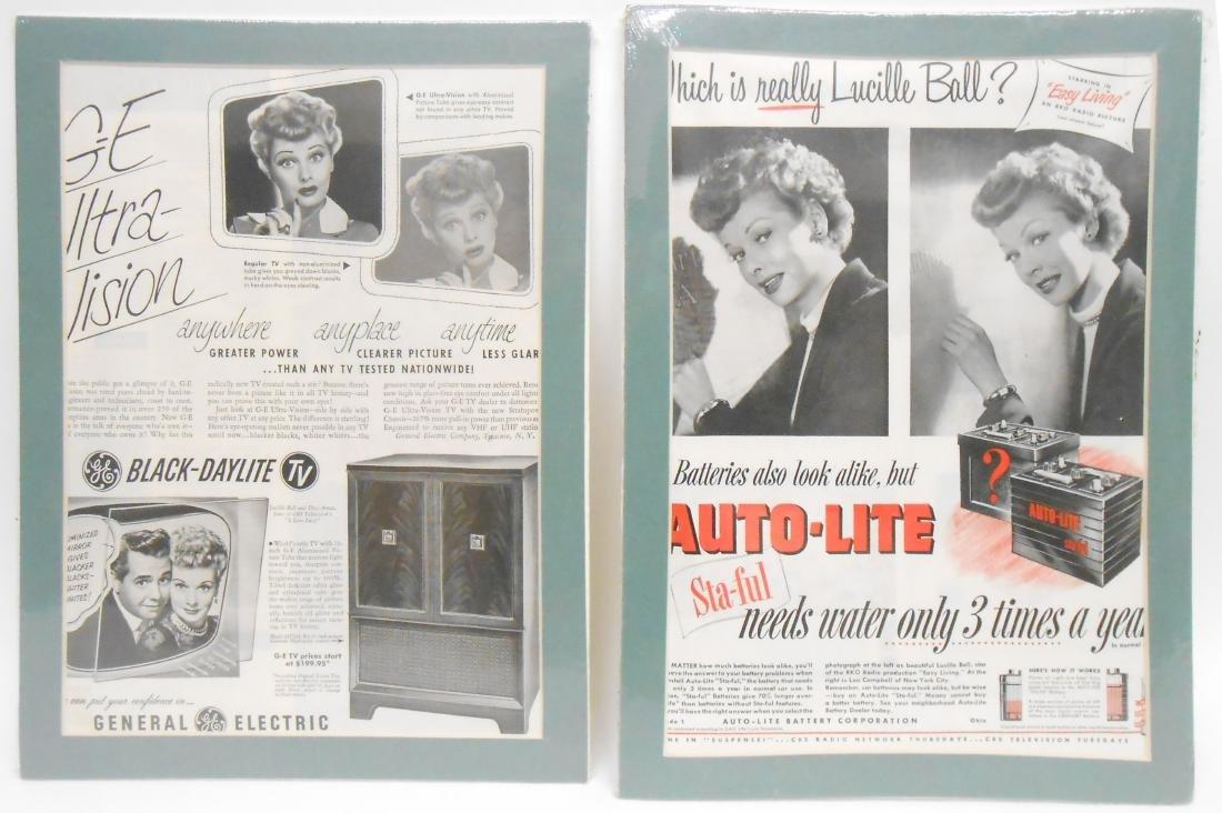 (24) LUCILLE BALL MAGAZINE ADS & BROCHURES - 6