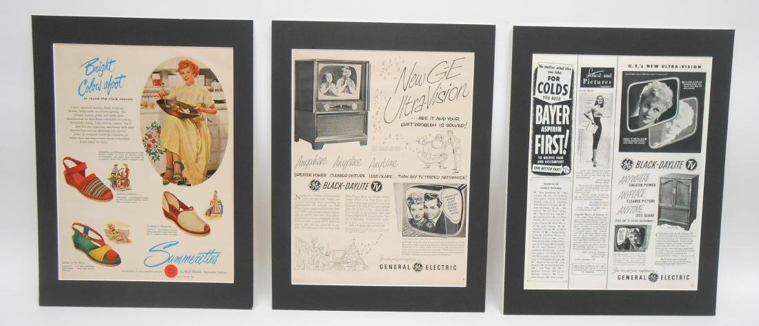 (24) LUCILLE BALL MAGAZINE ADS & BROCHURES - 7