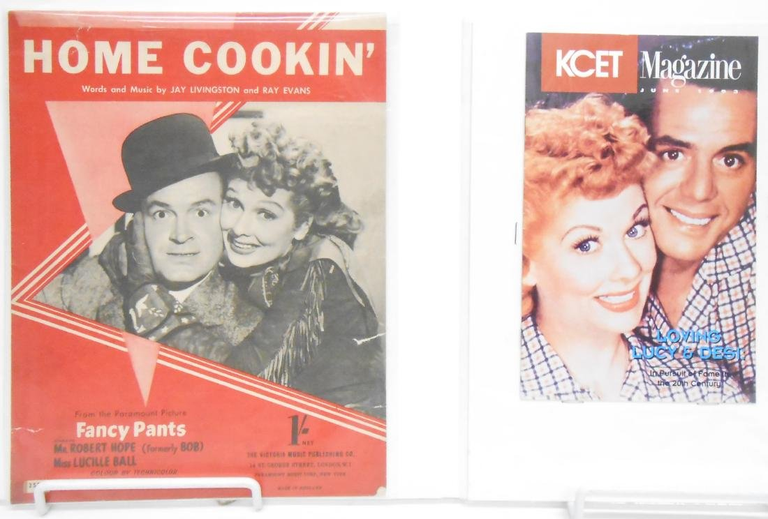 (18+/-) LUCILLE BALL MUSIC, FILM & THEATRE RELATED - 10