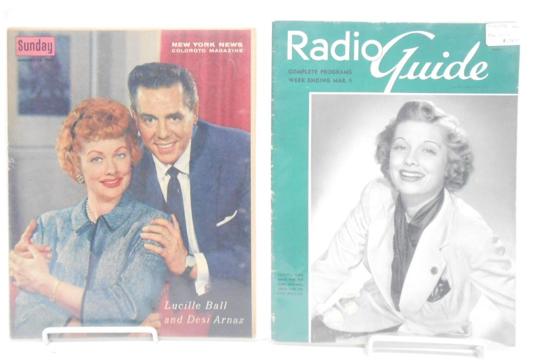 (18+/-) LUCILLE BALL MUSIC, FILM & THEATRE RELATED - 2