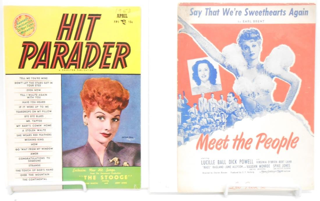 (18+/-) LUCILLE BALL MUSIC, FILM & THEATRE RELATED - 3