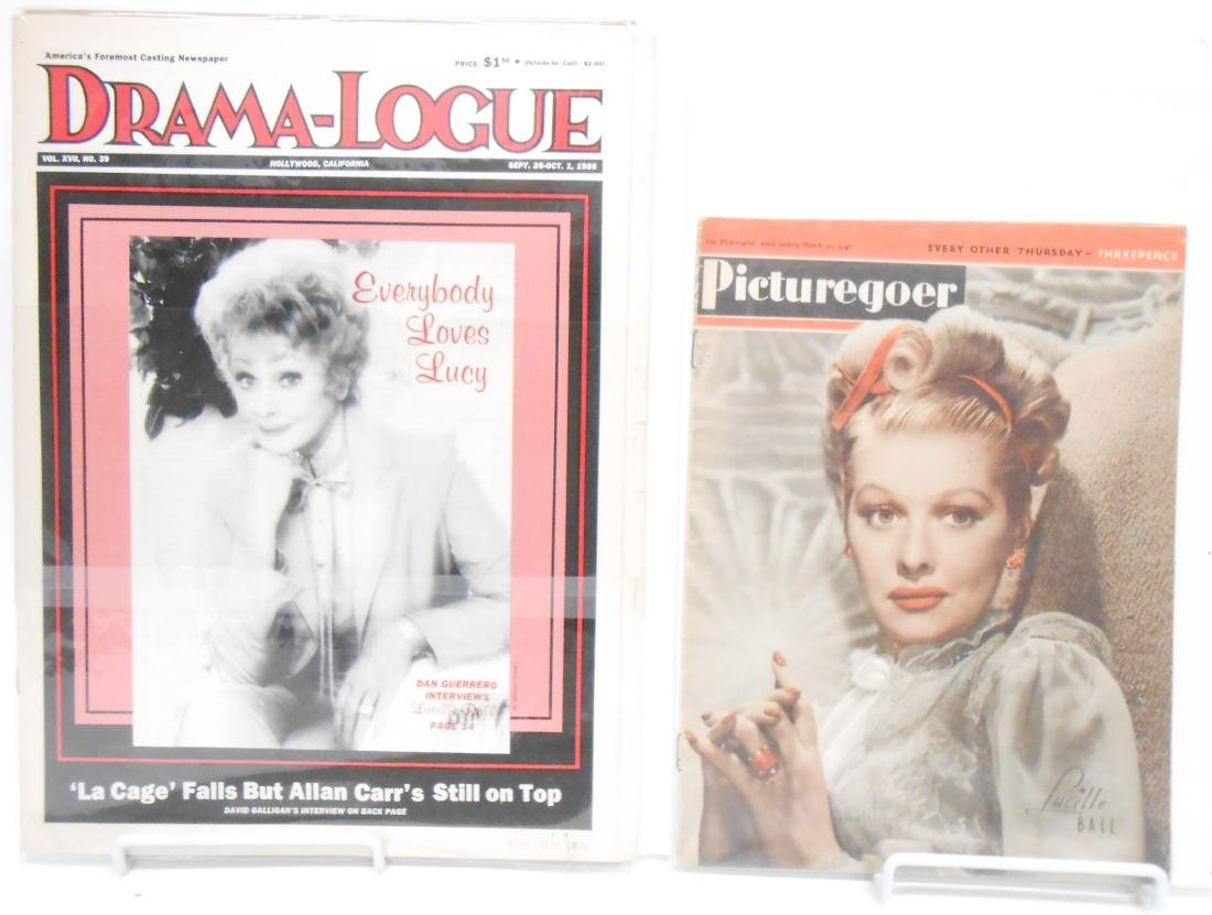 (18+/-) LUCILLE BALL MUSIC, FILM & THEATRE RELATED - 4