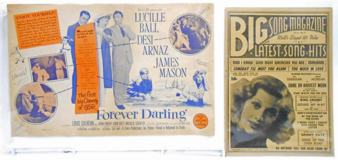 (18+/-) LUCILLE BALL MUSIC, FILM & THEATRE RELATED - 7