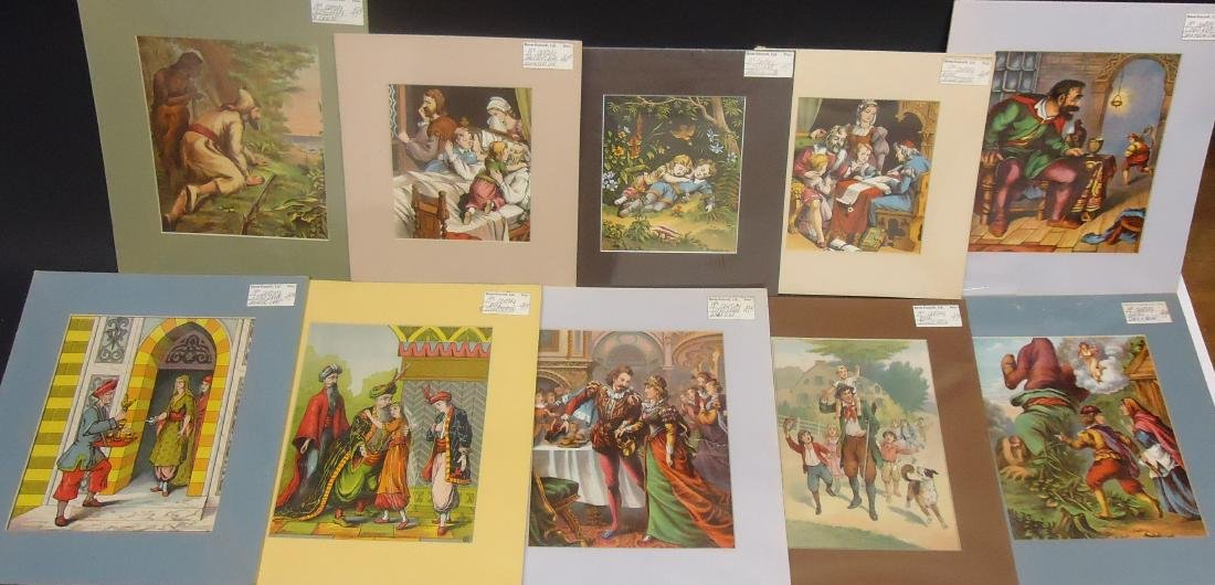 (48) COLOR LITHO CHILDREN'S BOOK ILLUSTRATIONS - 4