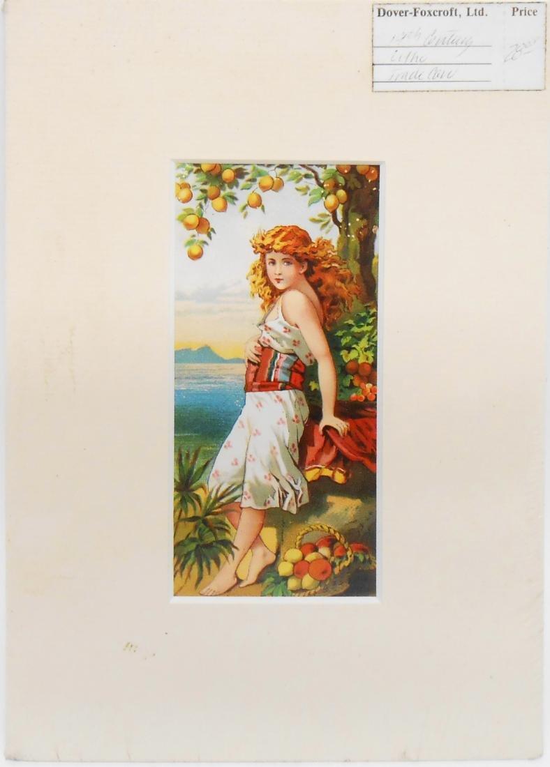(16) ADVERTISING TRADE CARDS - 3