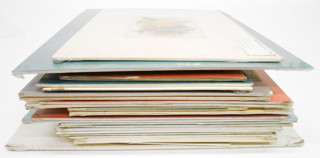 (25) COLOR LITHO POST CARDS, PRINTS, ETC.