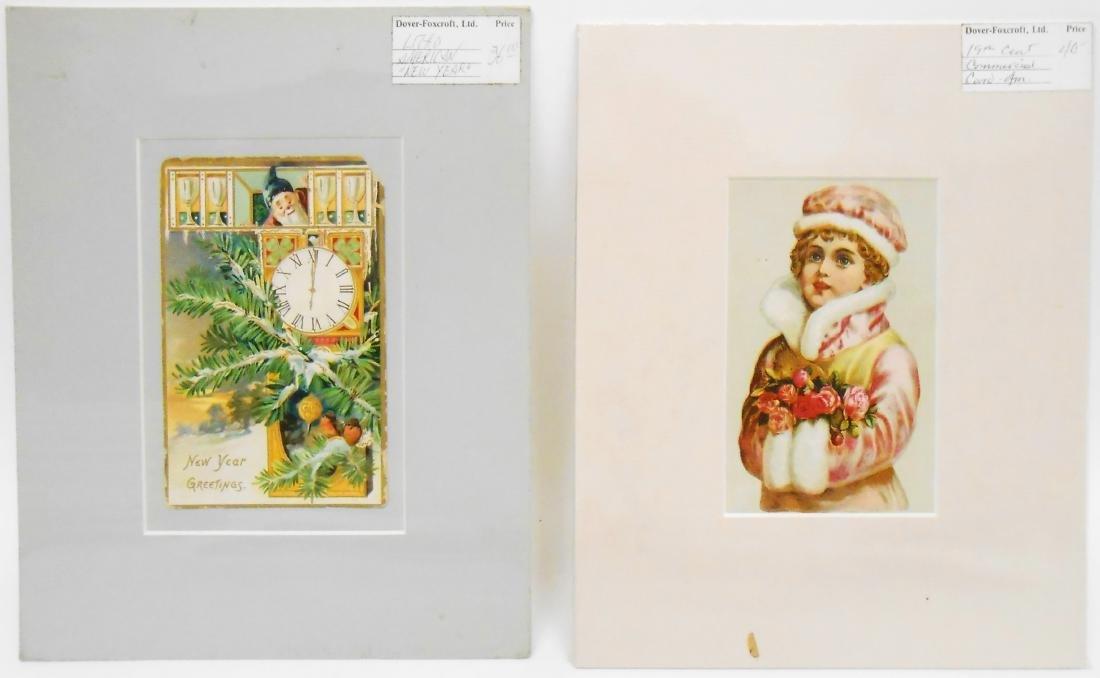 (38)  CHROMOLITHO POST CARDS, GREETING CARDS, ETC. - 2