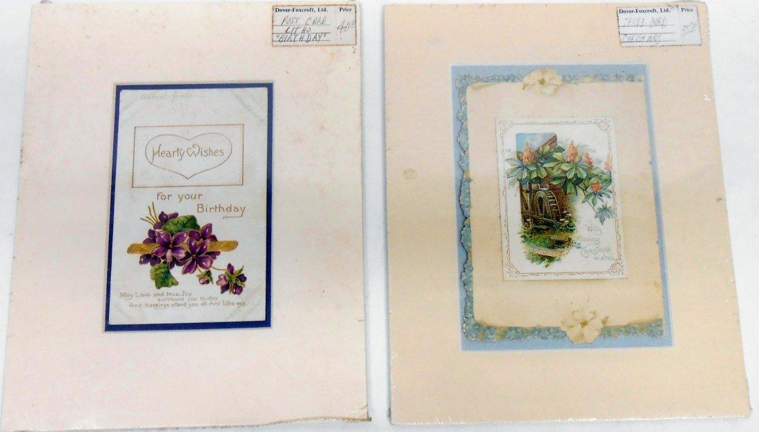 (38)  CHROMOLITHO POST CARDS, GREETING CARDS, ETC. - 4