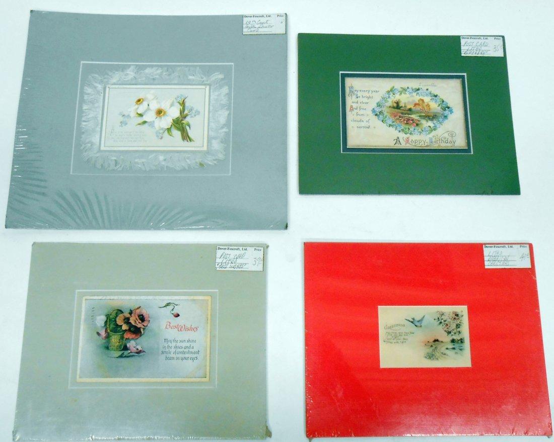 (38)  CHROMOLITHO POST CARDS, GREETING CARDS, ETC. - 5