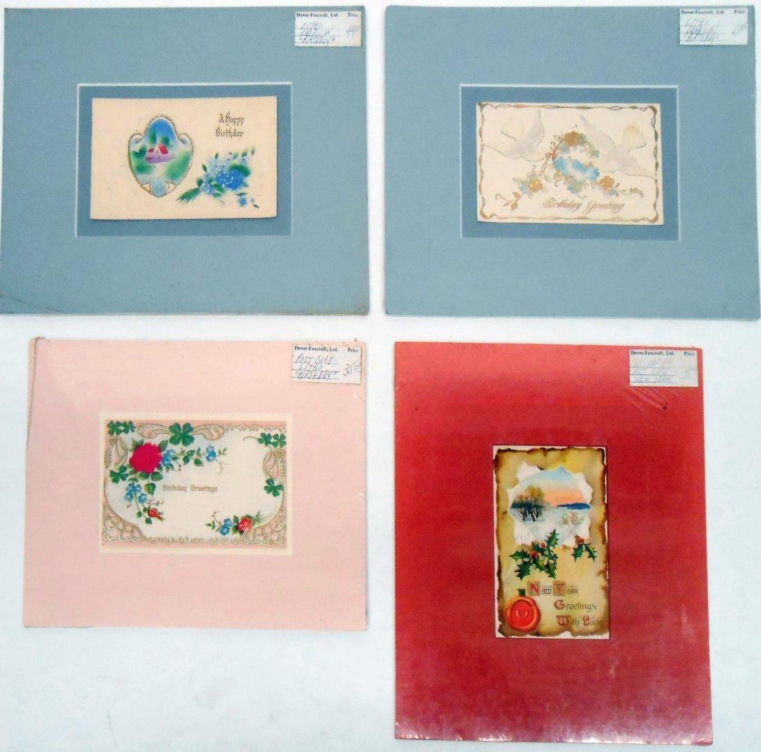 (38)  CHROMOLITHO POST CARDS, GREETING CARDS, ETC. - 6