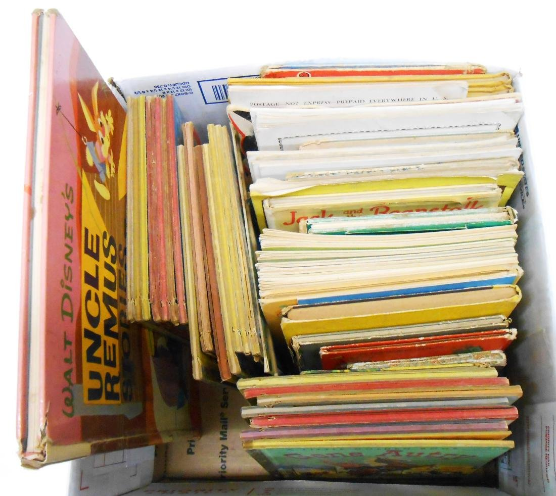(66) HARD & SOFT BOUND CHILDRENS BOOKS, GOLDEN BOOKS