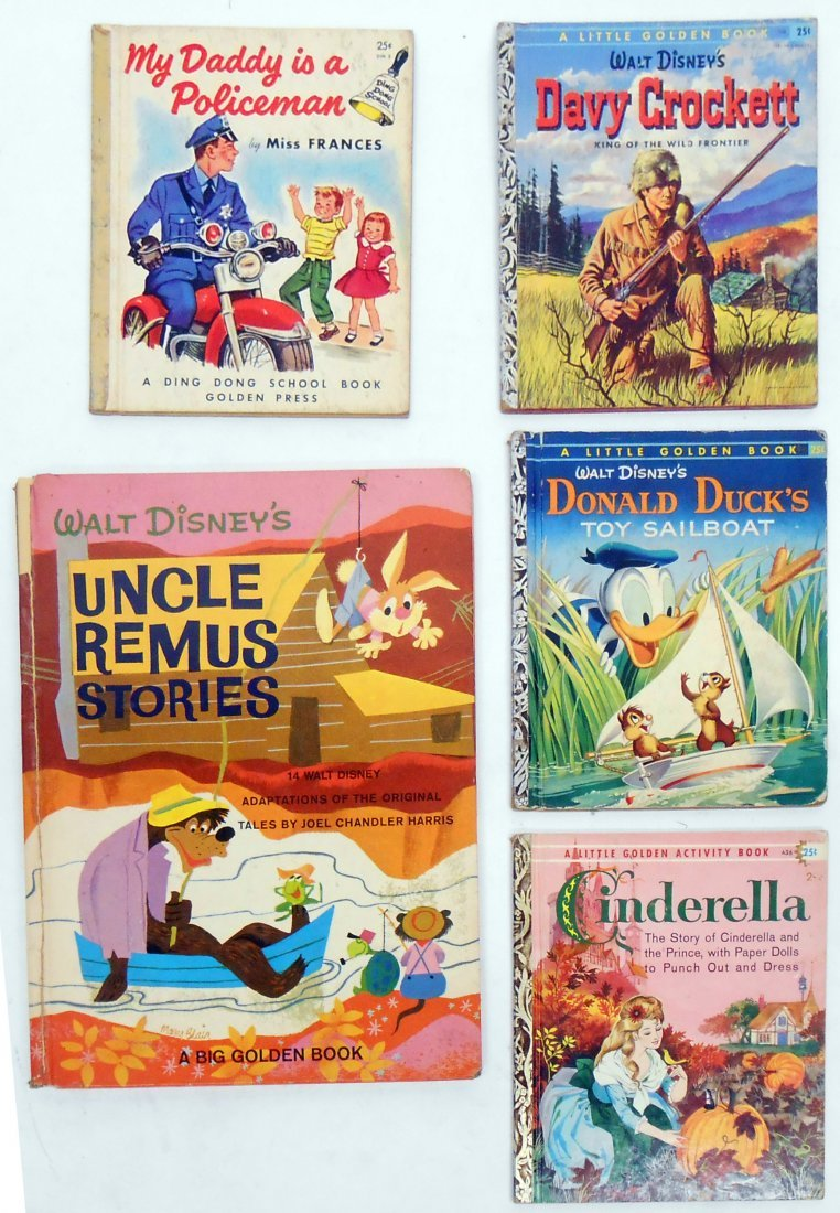(66) HARD & SOFT BOUND CHILDRENS BOOKS, GOLDEN BOOKS - 5