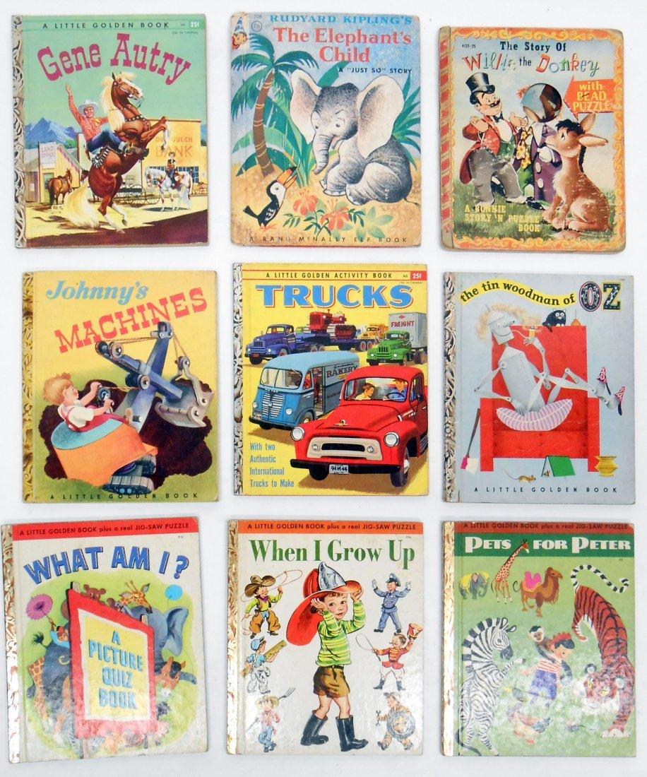 (66) HARD & SOFT BOUND CHILDRENS BOOKS, GOLDEN BOOKS - 6