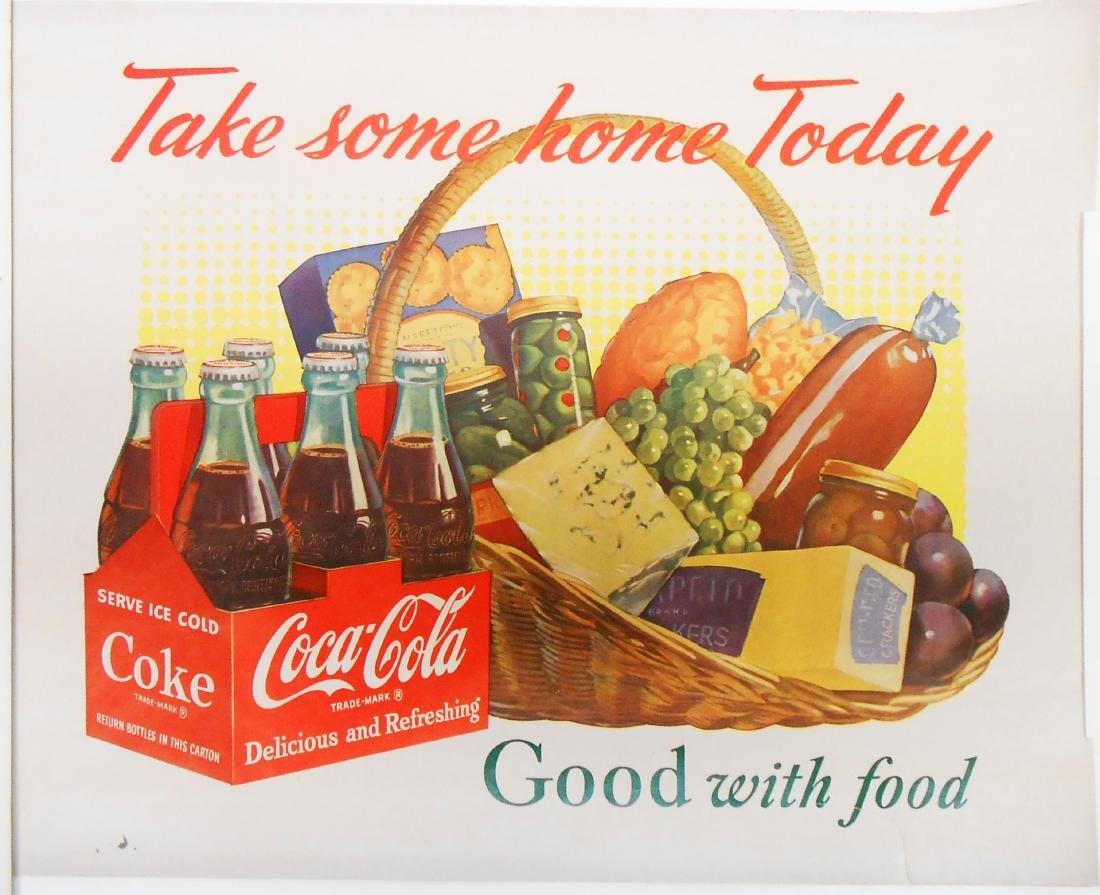 (3) ADVERTISING COCA-COLA SIGNS