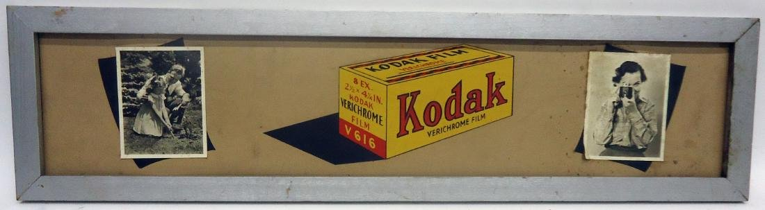 (5) KODAK CAMERA ADVERTISING SIGNS