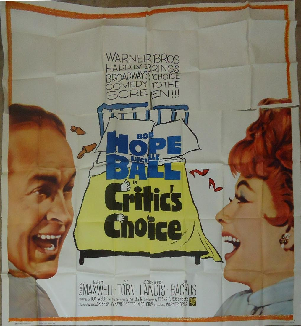 "6-SHEET ""CRITICS CHOICE"" MOVIE POSTER"