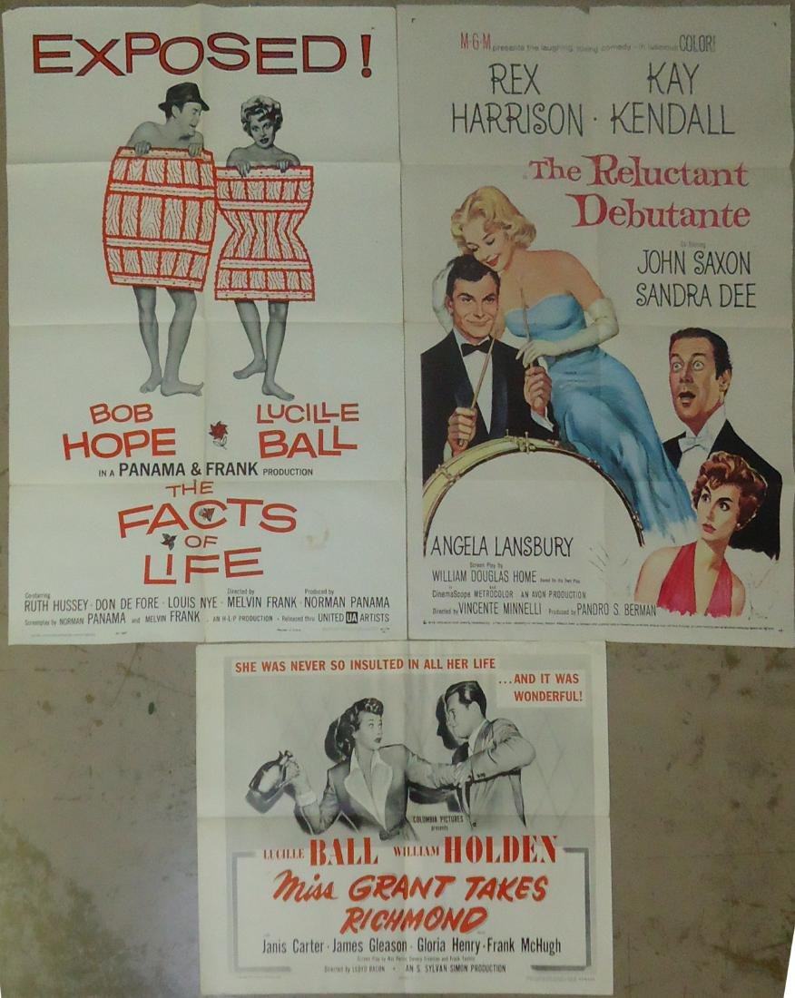 (3) MOVIE POSTERS