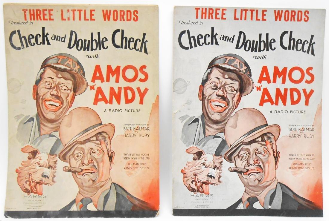 BLACK AMERICANA DIE-CUT, PLAYBOOKS, SONGBOOKS, CATALOG - 2