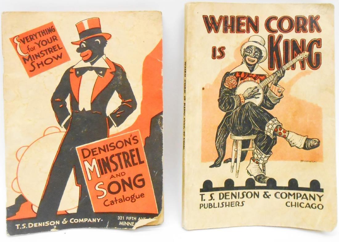 BLACK AMERICANA DIE-CUT, PLAYBOOKS, SONGBOOKS, CATALOG - 4